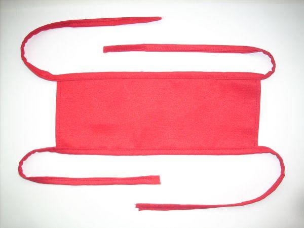 Как сделать повязку дежурного на руку