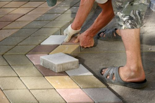 Стоимость укладка тротуарной плитки своими руками